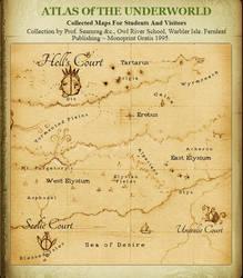 Underworld Map by Si1verange1
