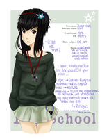 dA High School: Lunar by Lunare-chan