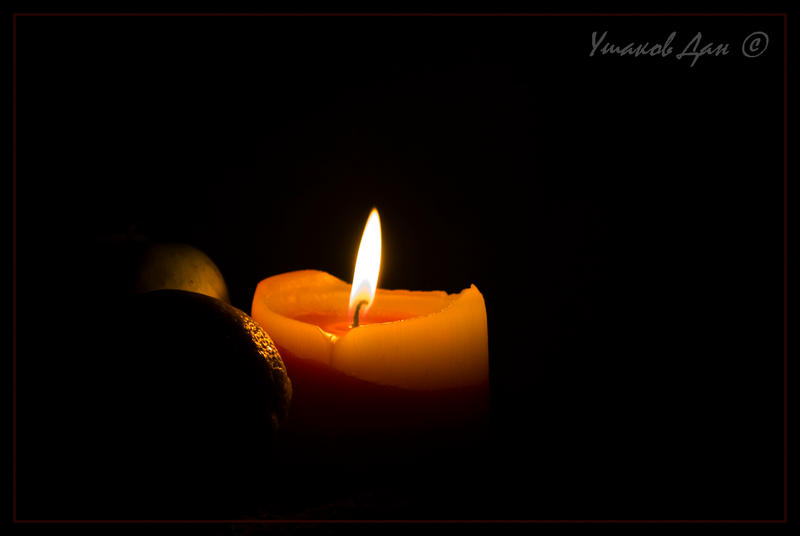 candle in the dark - photo #38