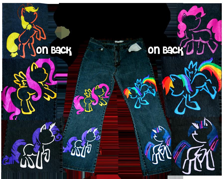 My Little Pony Pants by ManaOverdose