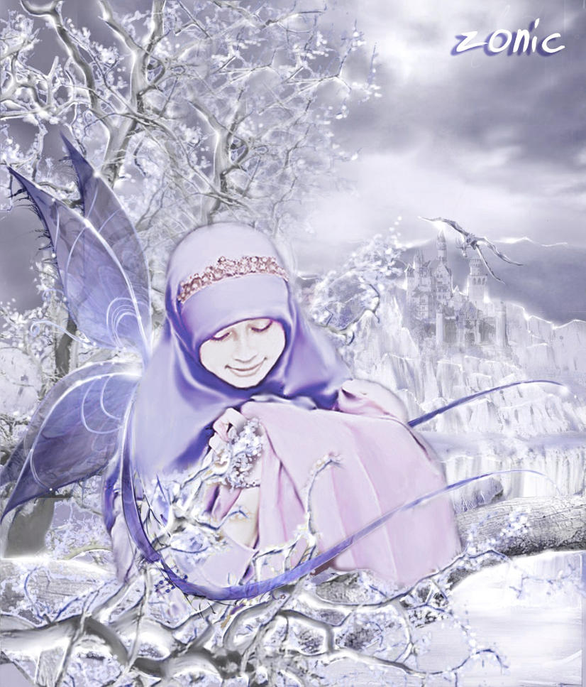 fairy wings.. in the ice by zonicMdh on deviantART