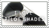 Pilot Shades Stamp by LunaxLlama
