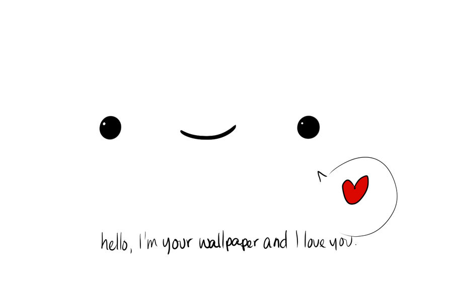 I M Your Wallpaper And Ilu By Lunaxllama On Deviantart