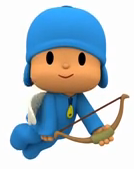 Pocoyo is Cupid by soniclover562