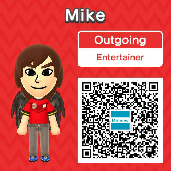 My Miitomo self by soniclover562