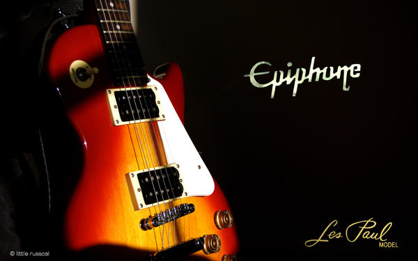 Epiphone Les Paul Wallpaper By Littlerusscal On Deviantart
