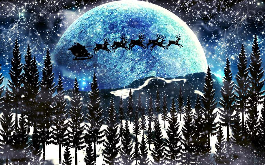 Fantasy christmas Wallpaper by NinjaCaptain on DeviantArt