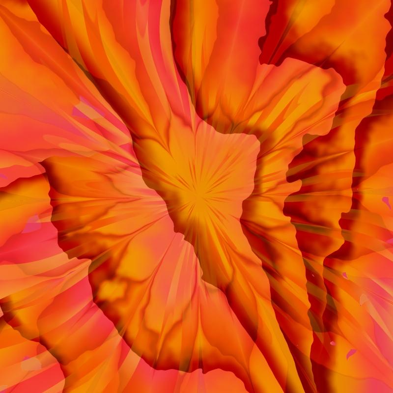 Flowered Paper Scraps by DaffodilB