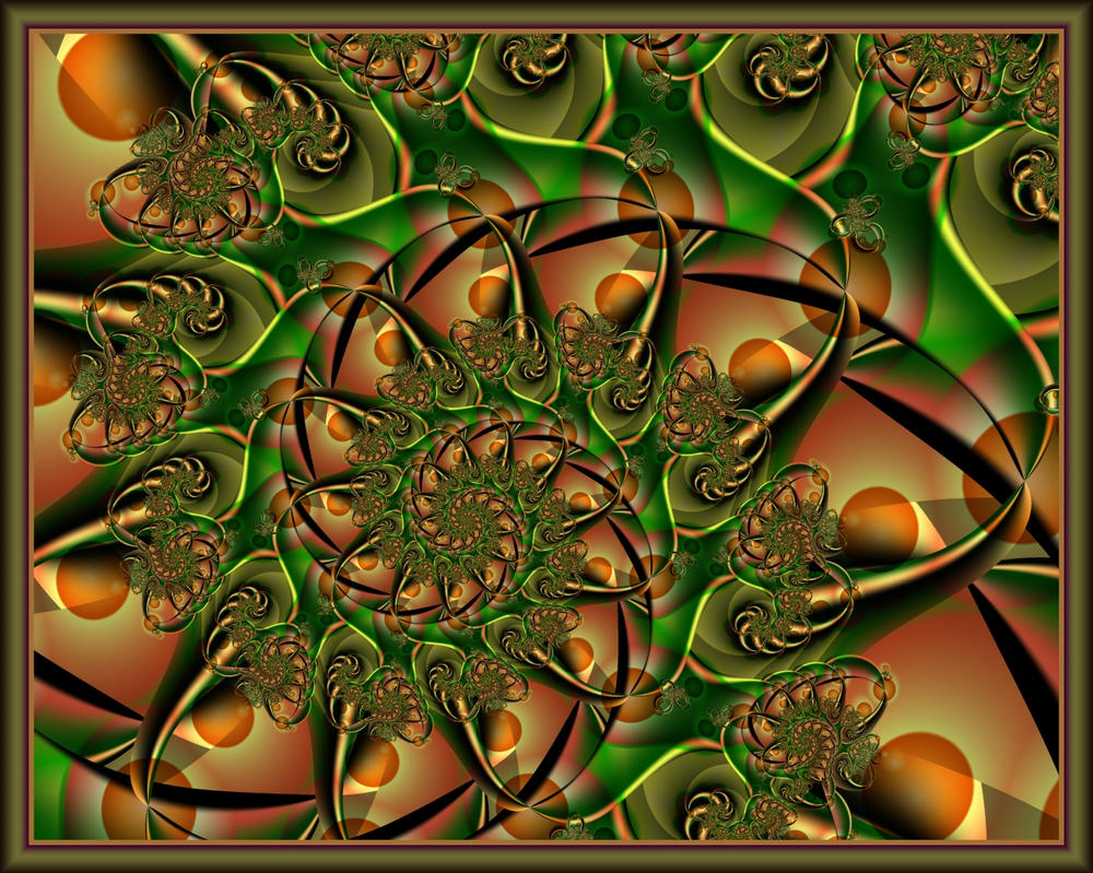 The Orange Grove by DaffodilB