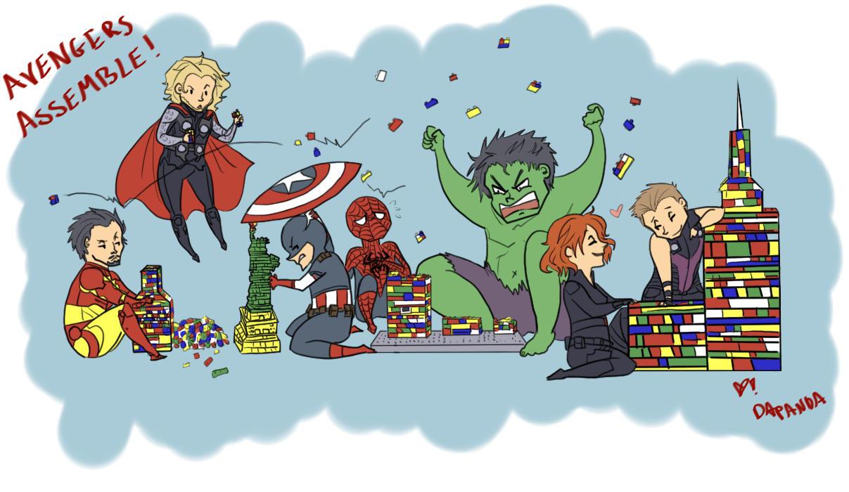 Avengers... Assemble! by DaPandaBanda