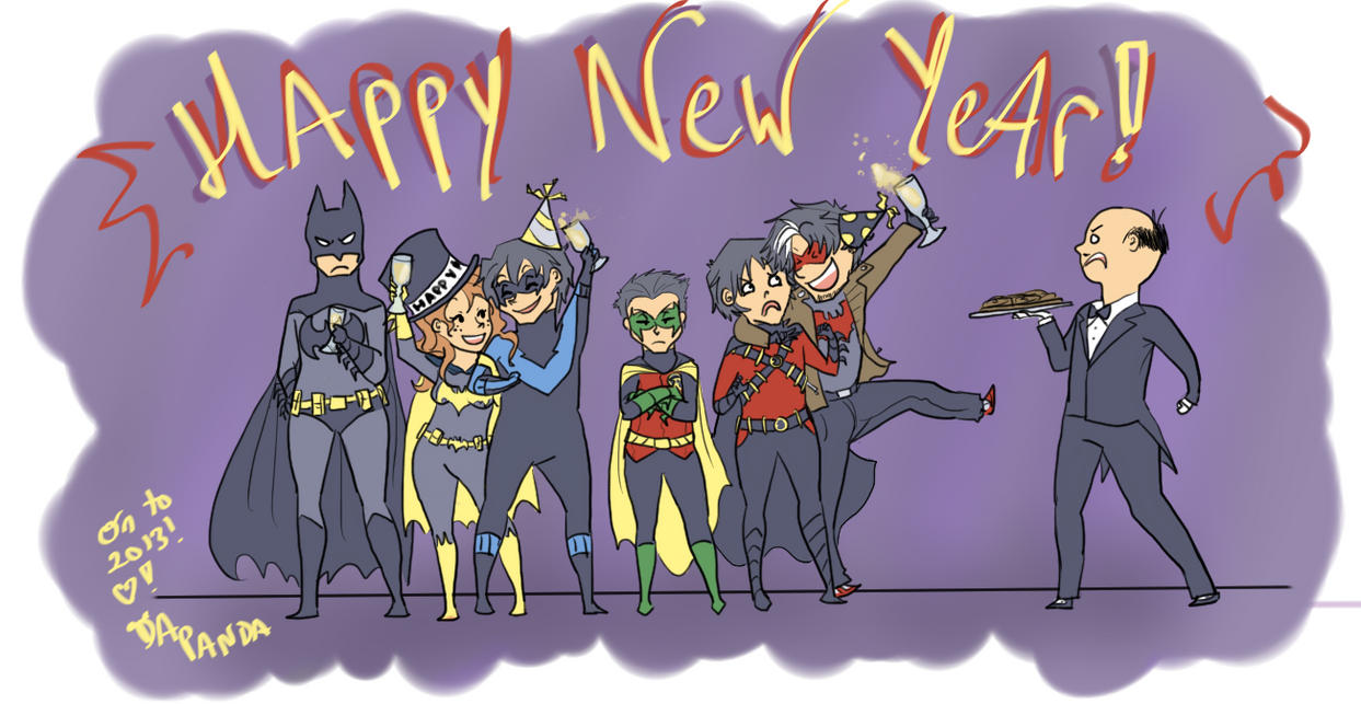 Happy New Year! :D by DaPandaBanda