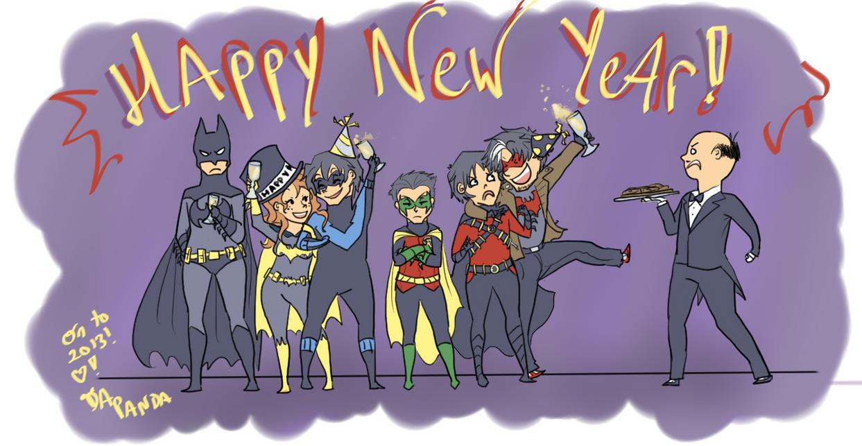 Happy New Year! :D by DaPandaBanda