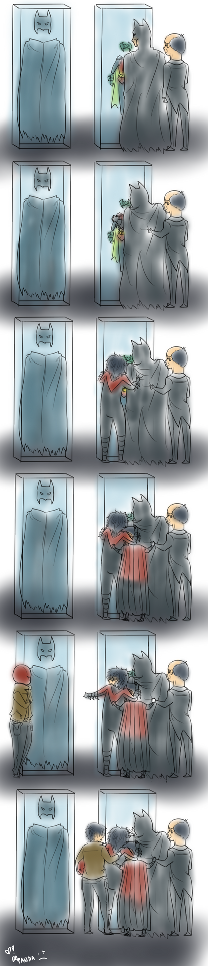 [Spoilers] Bat-Family Feels by DaPandaBanda