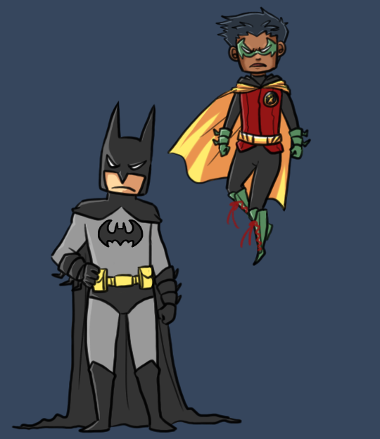 The New and Improved Dynamic Duo by DaPandaBanda