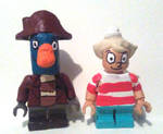 Lego Flapjack and K'Nuckles by DiegBareno