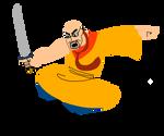 Samurai Critic by DiegBareno