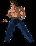 Mel Gibson as Kenshiro by DiegBareno