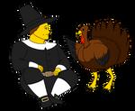 Pilgrim's Turkey by DiegBareno