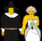 Pilgrim's Wedding by DiegBareno