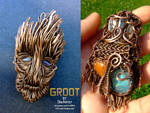 Guardians of The Galaxy - Groot pendant