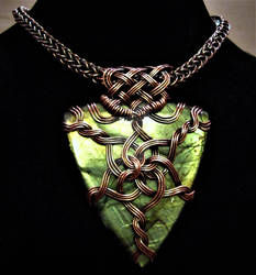 Queen of Asgard Celtic Knot Unisex Necklace