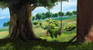 background for animation Movie