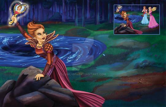 Diamond Castle Book-Barbi2