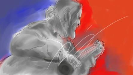 Painting Dz by lumluma