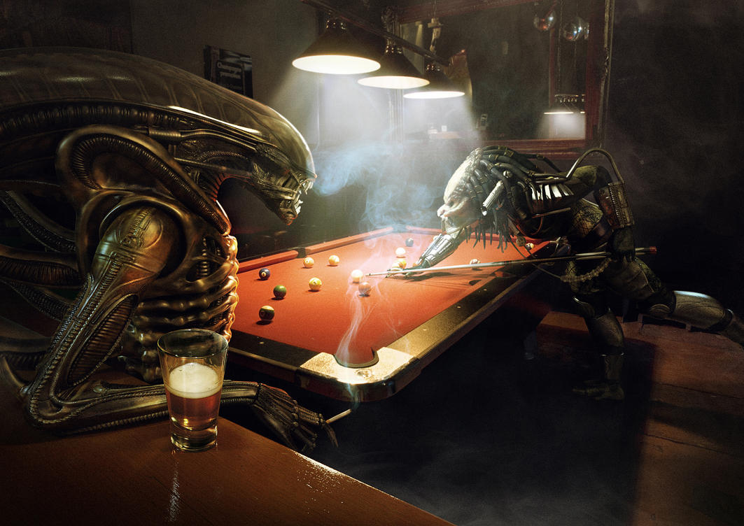 Alien Vs Predator Pool By Xidon