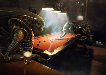 Alien Vs Predator: Pool