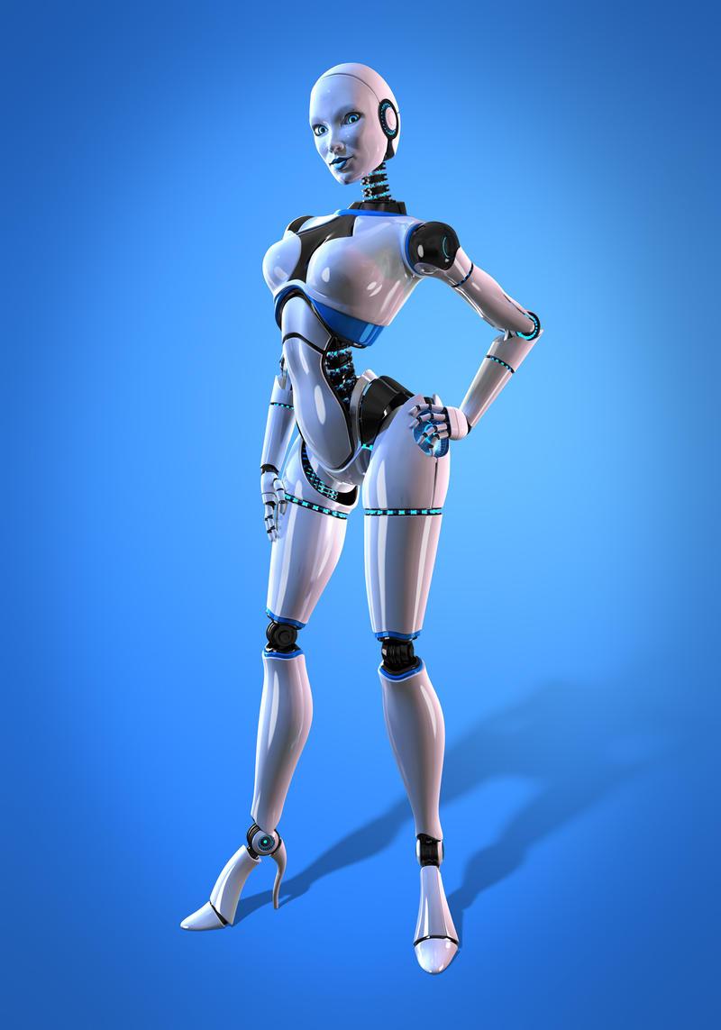 Medical Bot 02 by Xidon