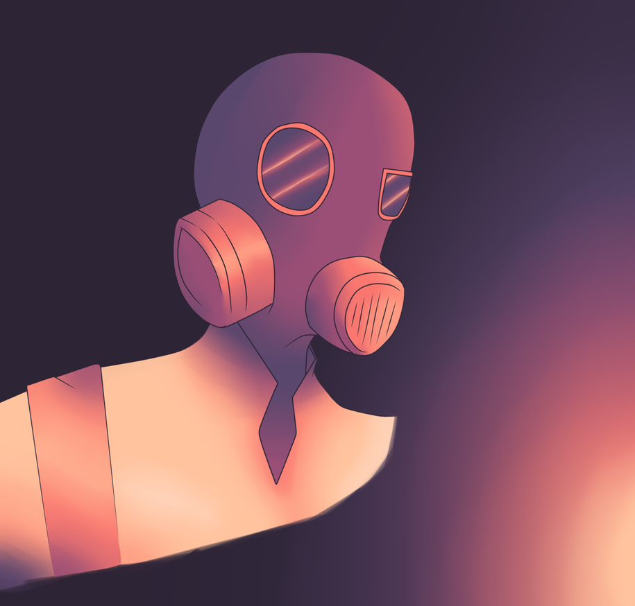 TF2 Pyro by SilverWingPrime