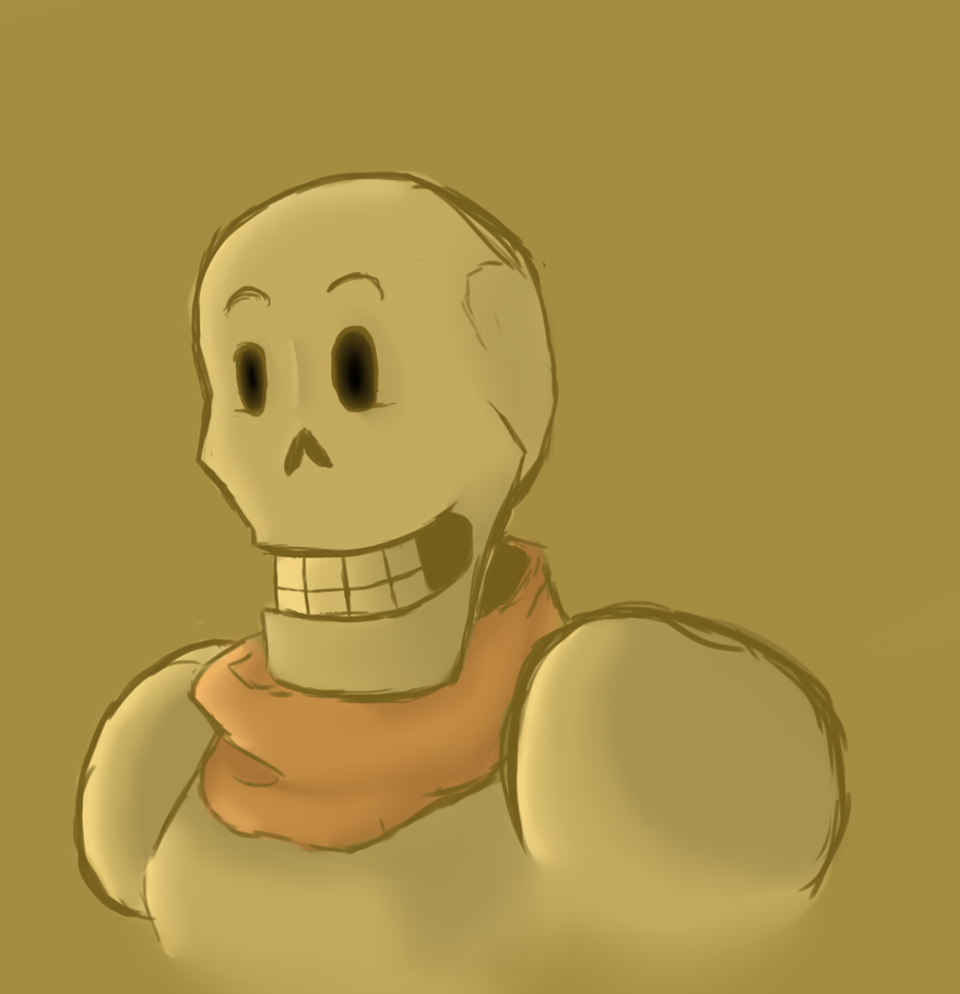 Papyrus /Undertale by SilverWingPrime