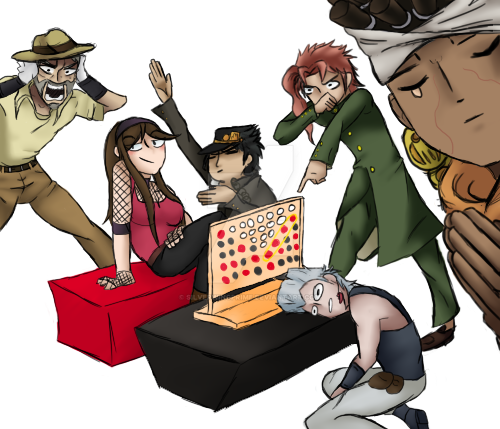 connect-four meme by SilverWingPrime