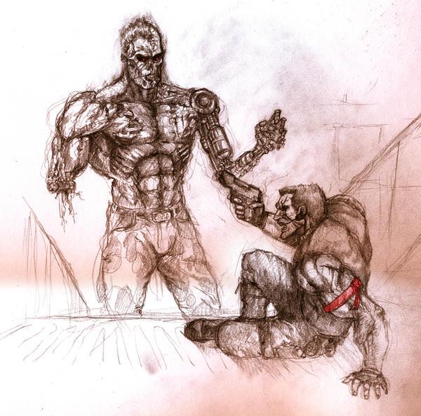 Terminator vs Connor
