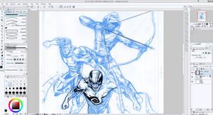 Haunt, Invincible and Arrow