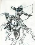 Invincible, the haunt and arrow