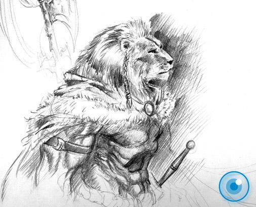 Deviantart Lion Warrior: Lion Warrior By Demacros On DeviantArt