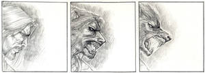 Werewolf barbarian
