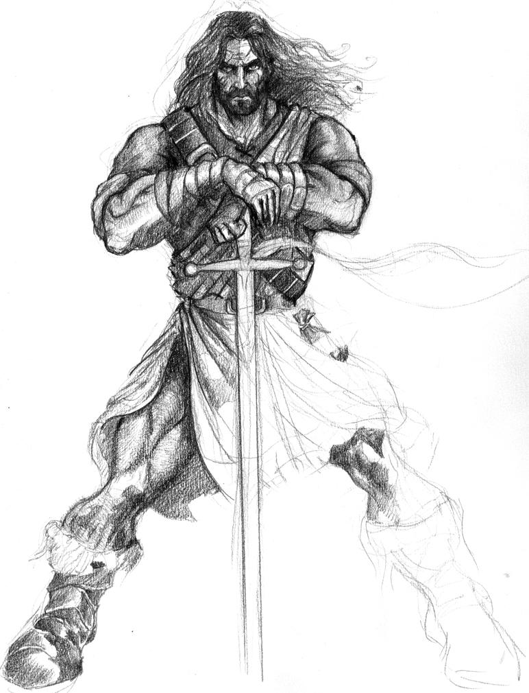 step 4 in william wallace by demacros on deviantart