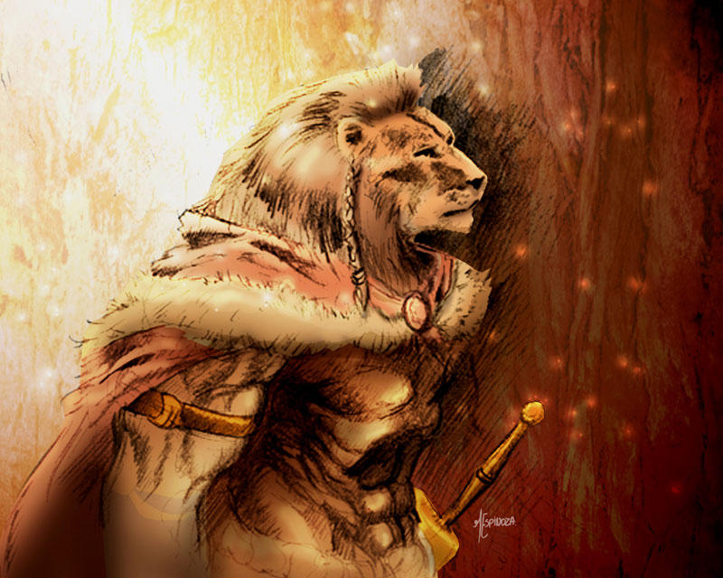 Leon Warrior by marespro by DemacrosLion Warrior