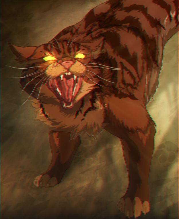 Коты Воители шайка диких котов.