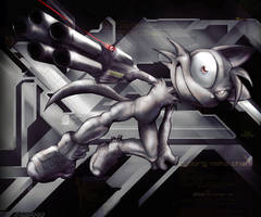 _Cyborg_Neko_Chan by darkdoomer