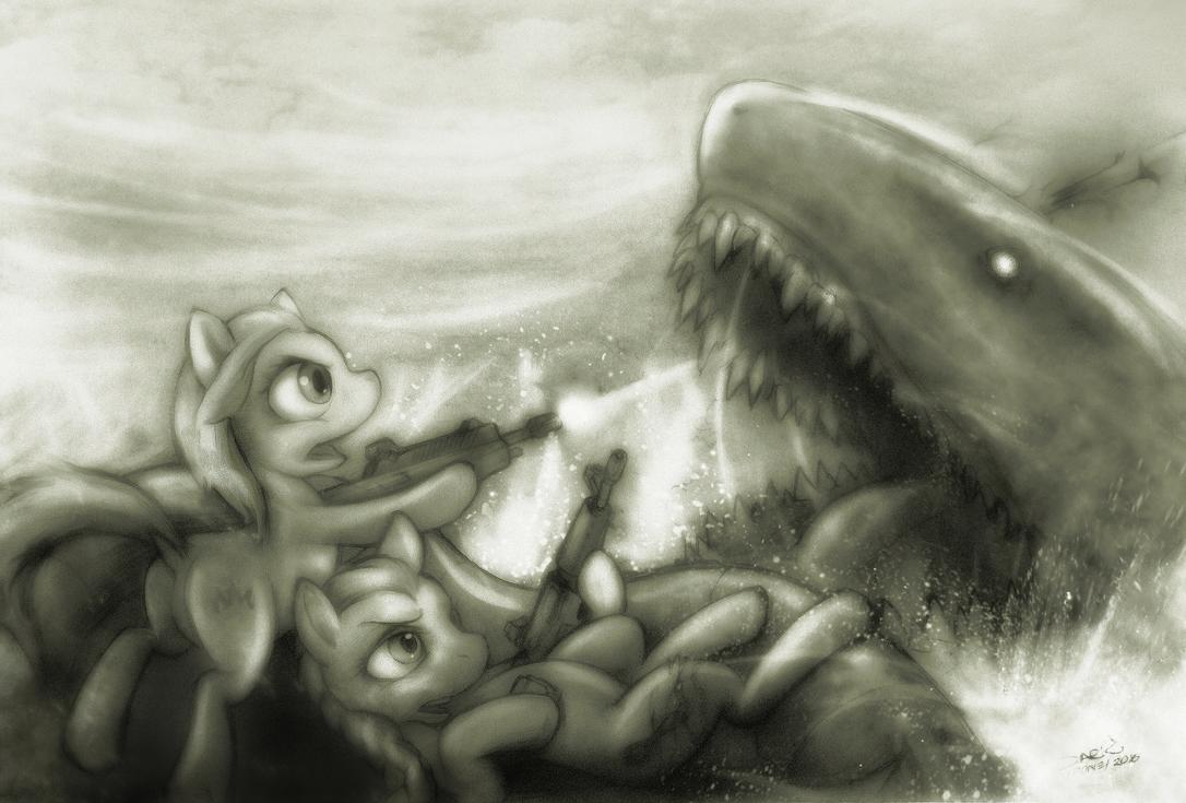 Fuck shark. by darkdoomer