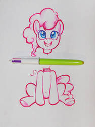 killing ponka with my dullest pens by darkdoomer