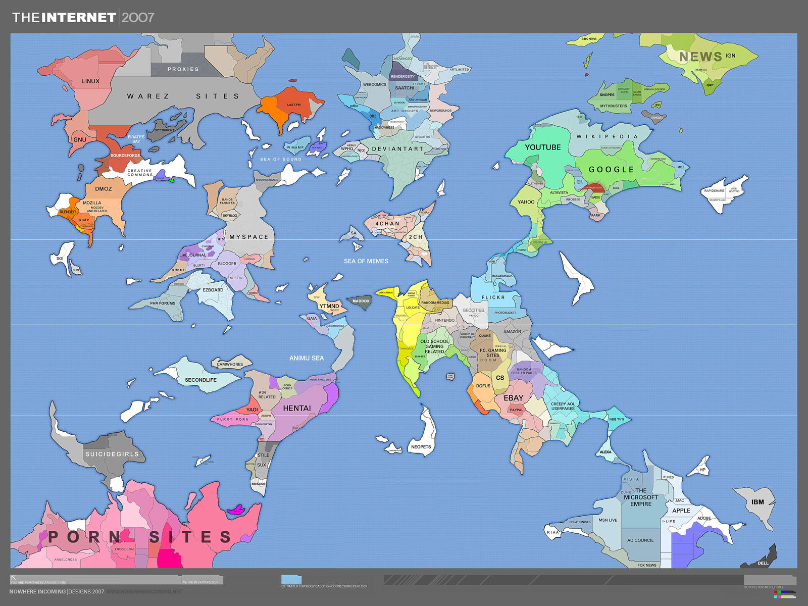 internet map -work in progress by darkdoomer