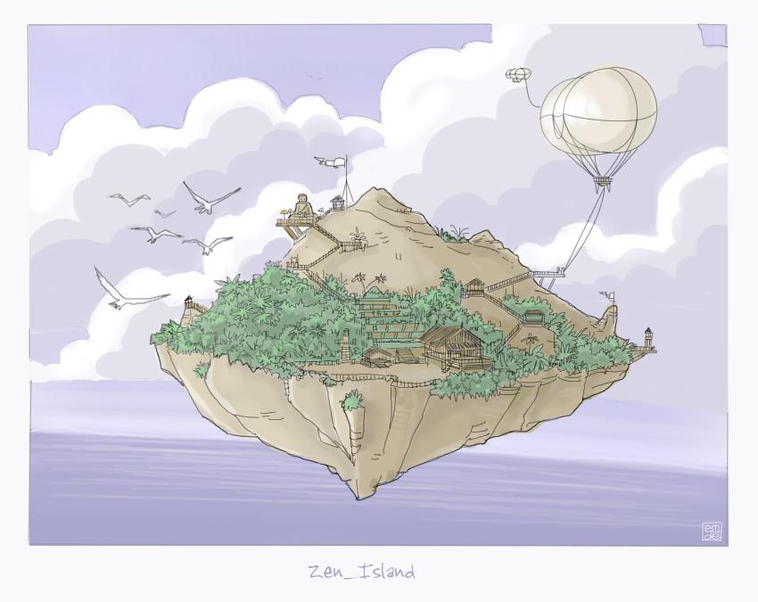 zen_island by gribouille