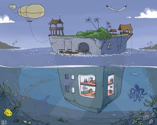 amphibile by gribouille