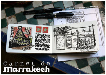 Carnets a Marrakech 02 by gribouille