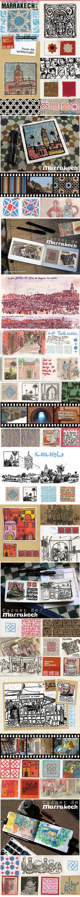 Marrakech Mosaique by gribouille